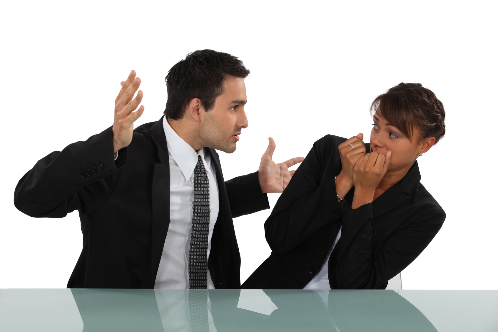Retaliation Lawsuit Scenario: A menacing employee intimidates a colleague